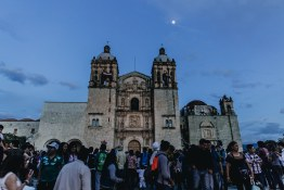 Santo Domingo, a plaza which many locals and tourists come to enjoy life together. It's very common to see wedding parties spill into the streets, a truly unique experience.