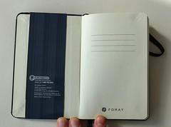 Foray Notebook 04
