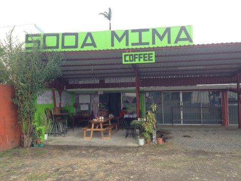 Soda Mima La Fortuna