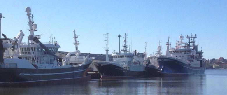 S 205 Ceton, GG 203 Ginneton, GG 505 Polar och S 264 Astrid