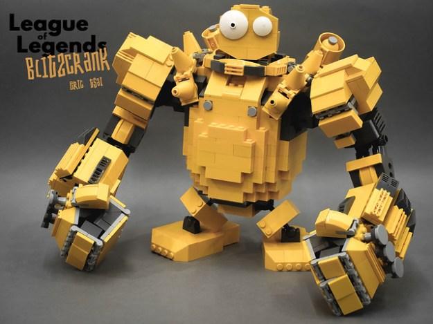 LEGO Blitzcrank