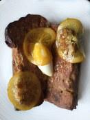 Pannetone French Toast, mascarpone, rum & orange syrup Brunch at Agrius   Victoria