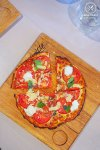 Magherita Pizza, $10.95: Bondi Pizza, Macquarie. Sydney Food Blog Review