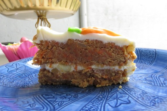Coconut Flour Carrot Cake