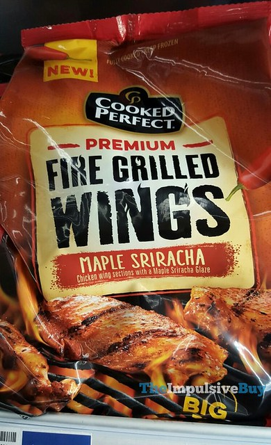 Cooked Perfect Maple Sriracha Premium Fire Grilled Wings