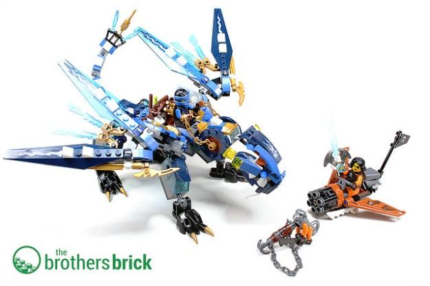 LEGO Ninjago 70602  Jayís Elemental Dragon