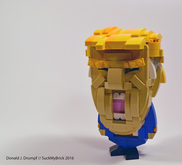 Make Donald Drumpf (and LEGO) again | The Brothers Brick | LEGO Blog