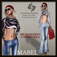 LEGENDAIRE MABEL OUTFIT WITH SHOES