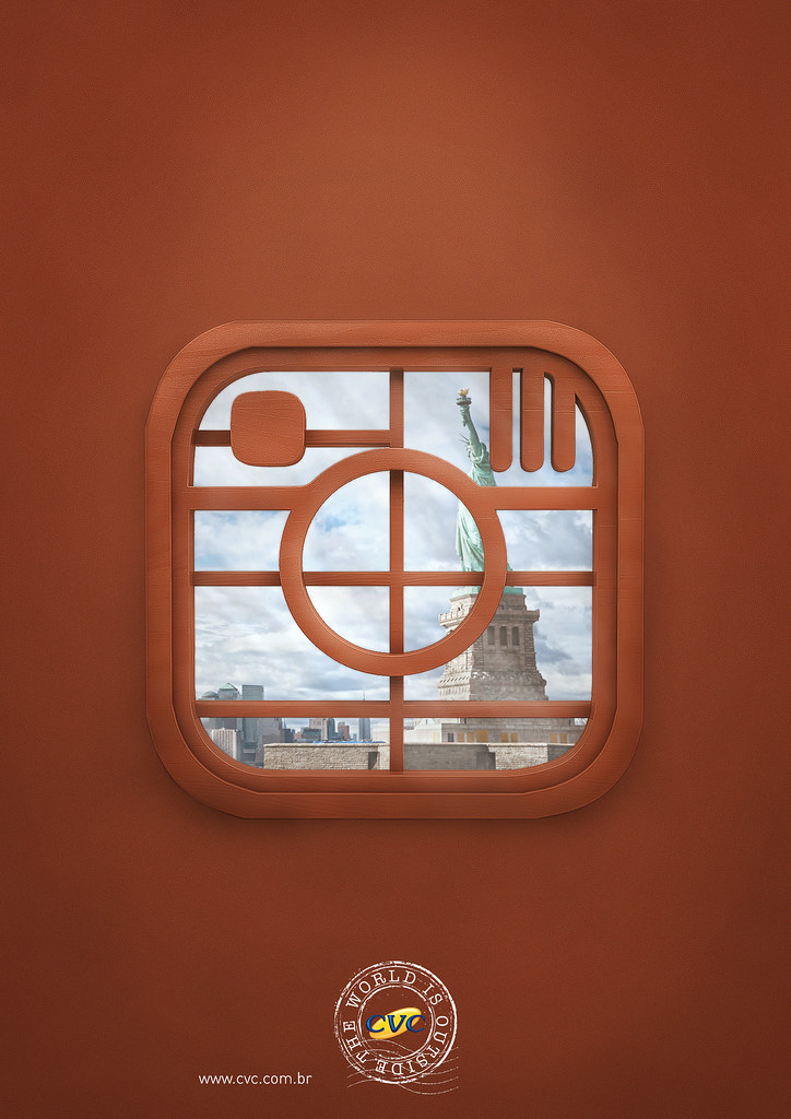 CVC Travel agency - The world is outside Instagram