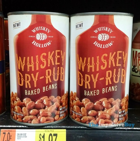 Whiskey Hollow Whiskey Dry-Rub Baked Beans