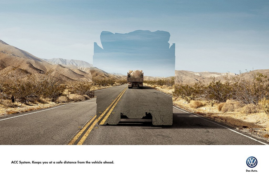 Volkswagen ACC System - Keeps you at a safe distance 3