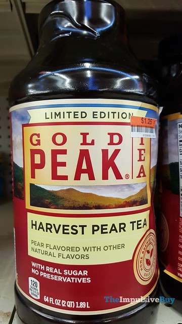 Limited Edition Gold Peak Harvest Pear Tea