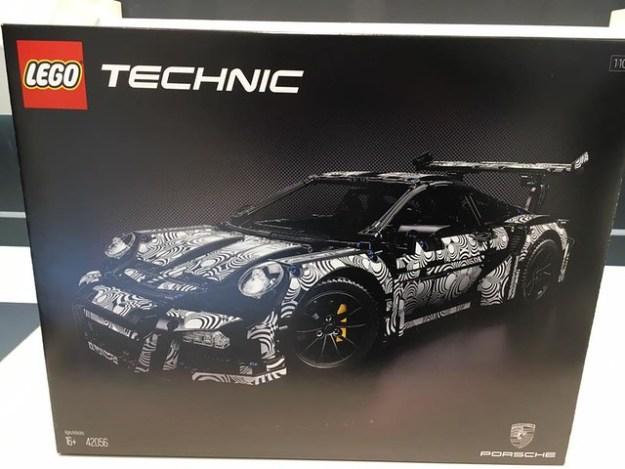 LEGO Technic 42056 Porsche & other Technic sets revealed at Nuremburg toy show