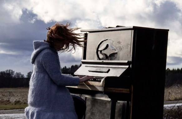 Ett vilset piano