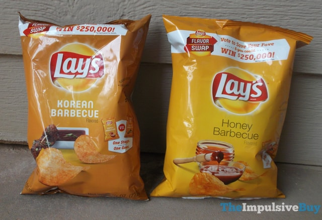 Lay's Korean Barbecue Potato Chips Head-to-Head 1