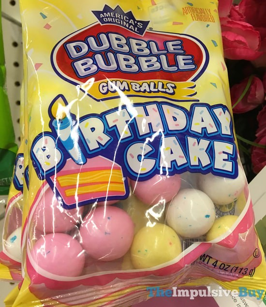 Dubble Bubble Birthday Cake Gum Balls