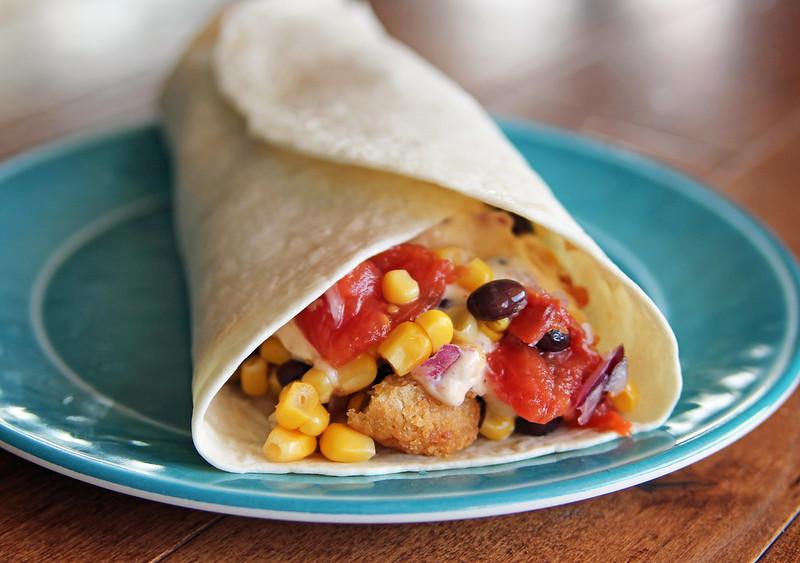 Fish Tacos with Corn, Black Bean and Lime Salsa - Nurse ...