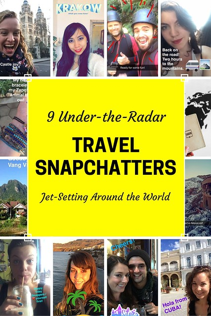 9 Travel Snapchatters