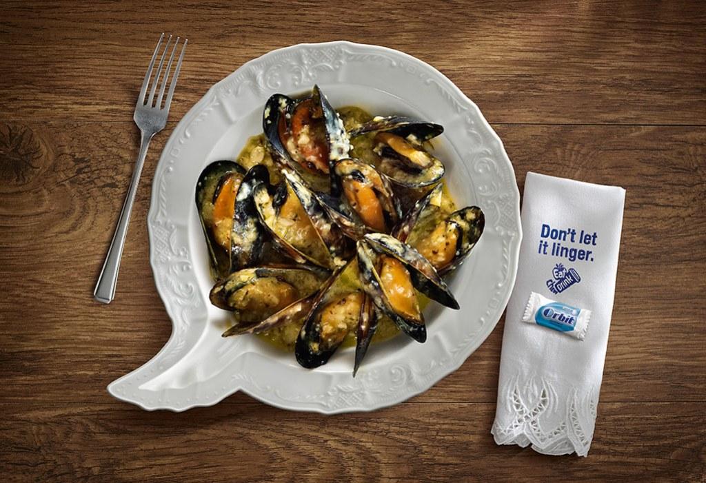Wrigley Orbit Gum - Mussels