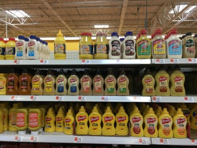 Mustard section