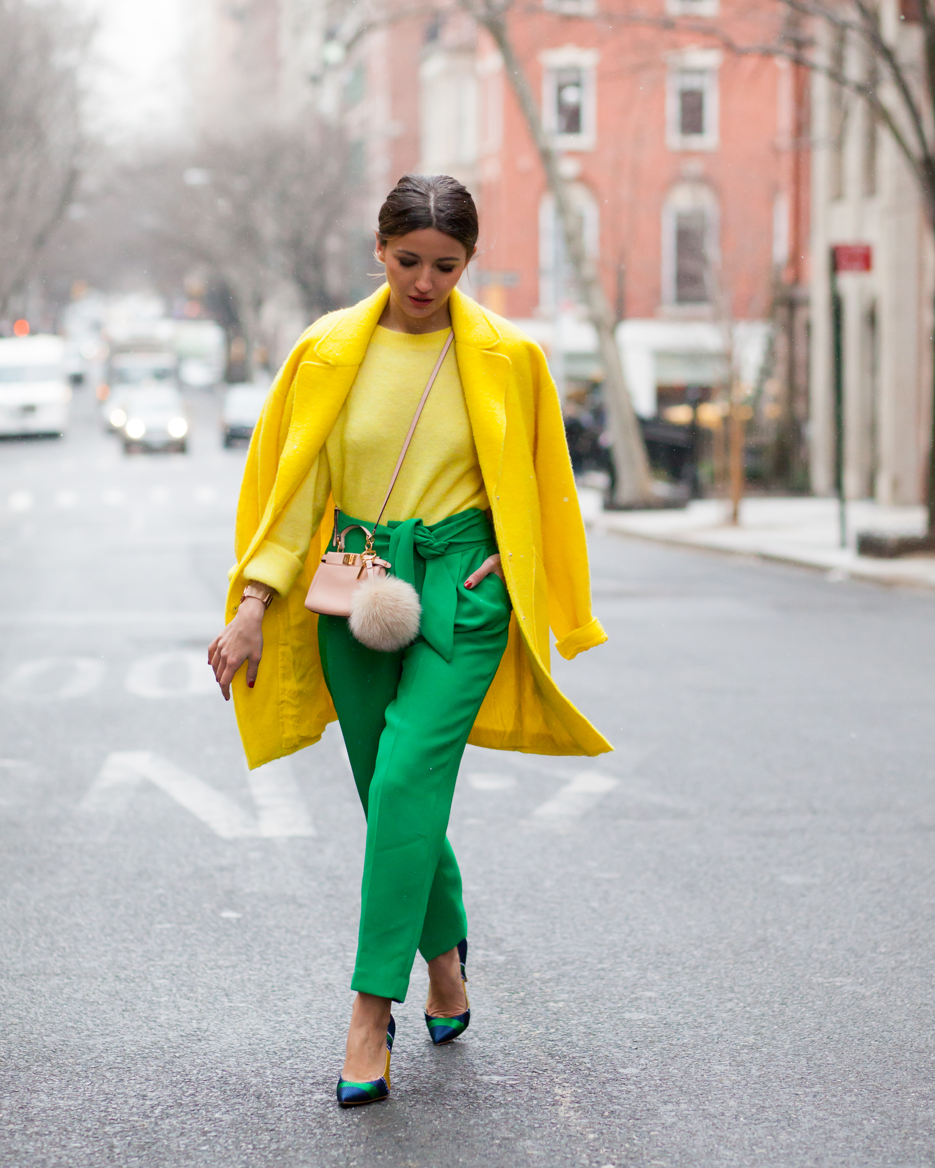 My Yellow Farmhouse Blog My Three Last Outfits For Nyfw Lovely Pepa By Alexandra