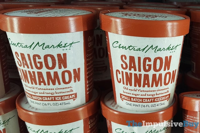 H-E-B Central Market Saigon Cinnamon Small Batch Ice Cream