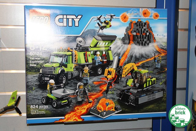 Toy Fair 2016: Five new Lego City Volcano sets on display ...