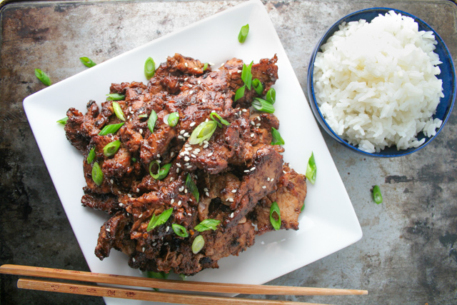 Quick Homemade Bulgogi Recipe on www.inthiskitchen.com