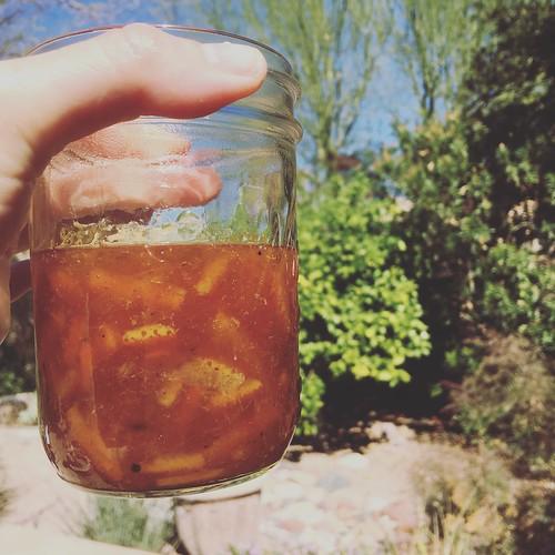 Arizona sun in a jar