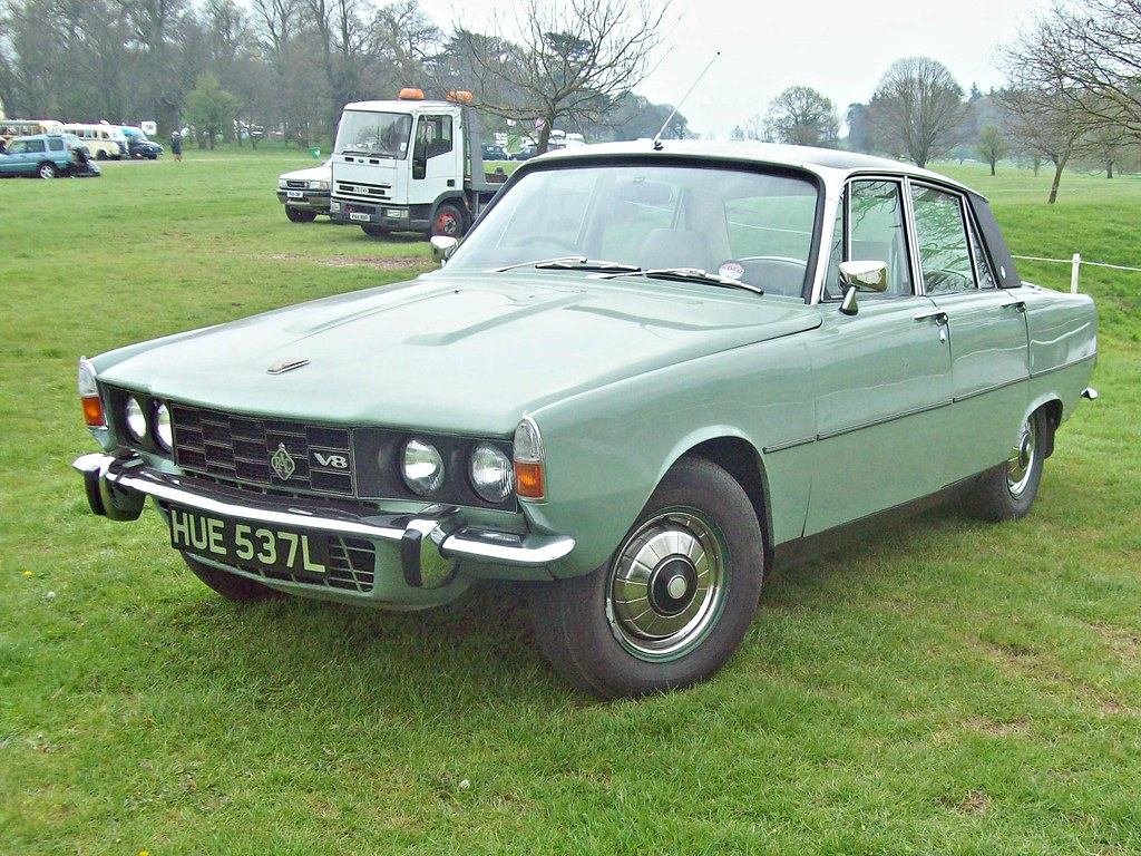 Rover P6 403 Rover P6 3500 Mk Ii 1972 Rover 3500 1970 76 Engine Flickr