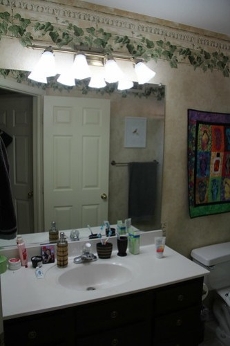 Bathroom renovation March 2016 www.africankelli.com