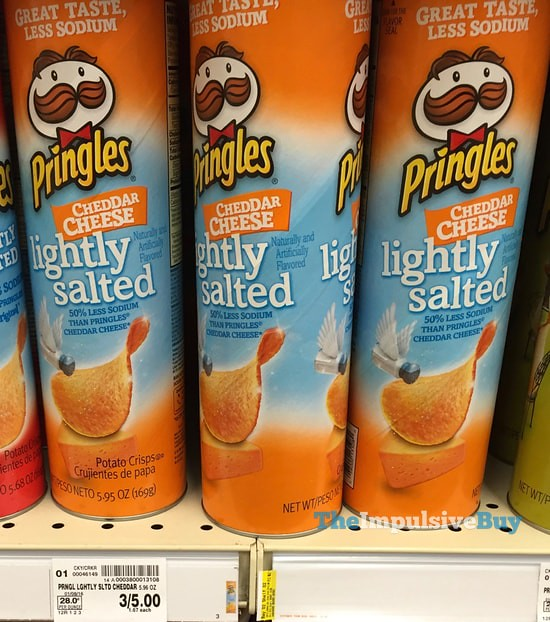Pringles Lightly Salted Cheddar Cheese