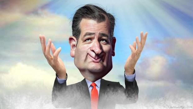 Ted Cruz's - Caricature