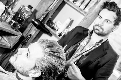 Woodstock Barbers 2016 - High key cut