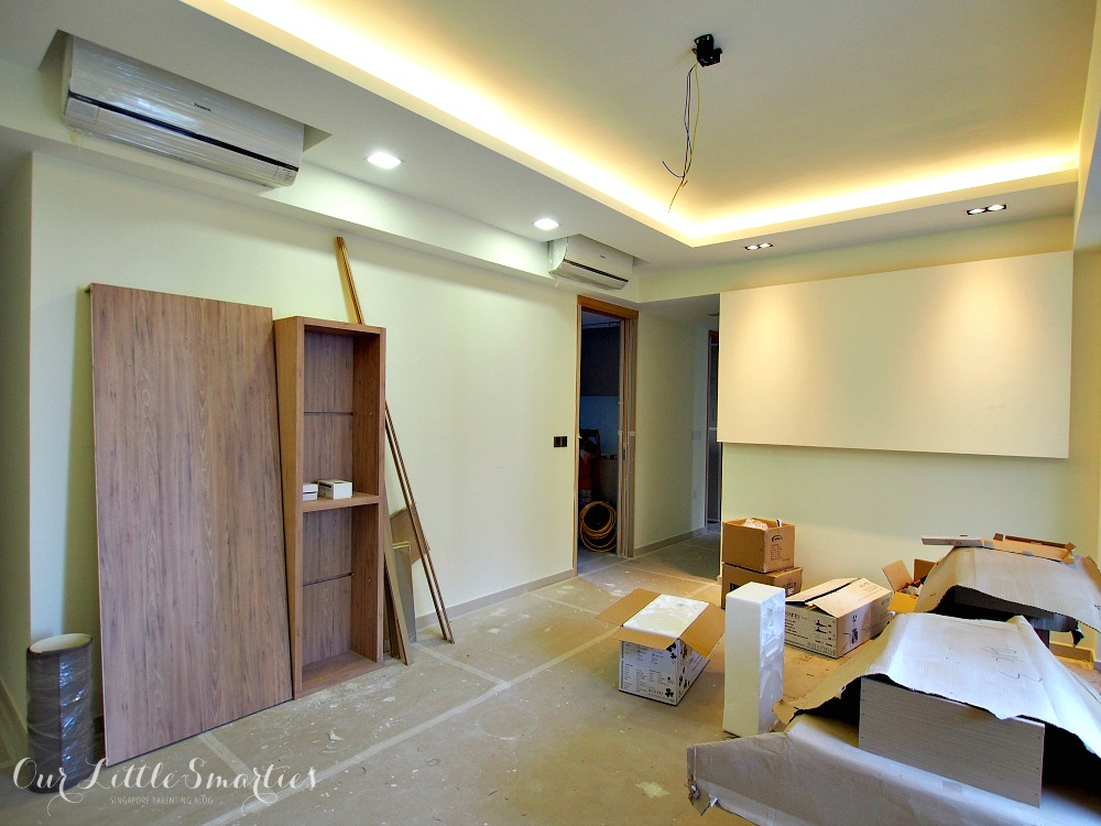 Ceiling Fan With Good Lighting Bartley Residences: Renovation Part 2 (carpentry And