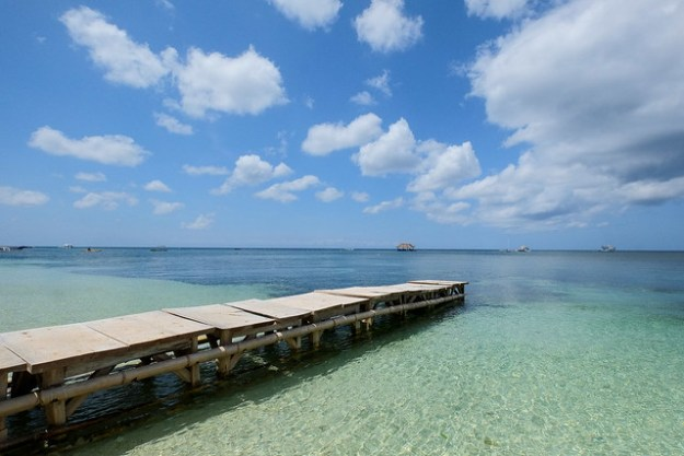 The jetty. Tubod Marine Sanctuary, Siquijor