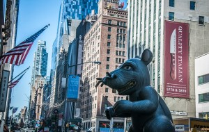 Gigant mouse at 5th Avenue
