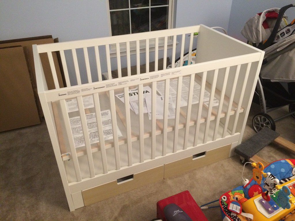 Ikéa Stuva Ikea Stuva Crib Lovingly Assembled In The Nursery By Siste Flickr