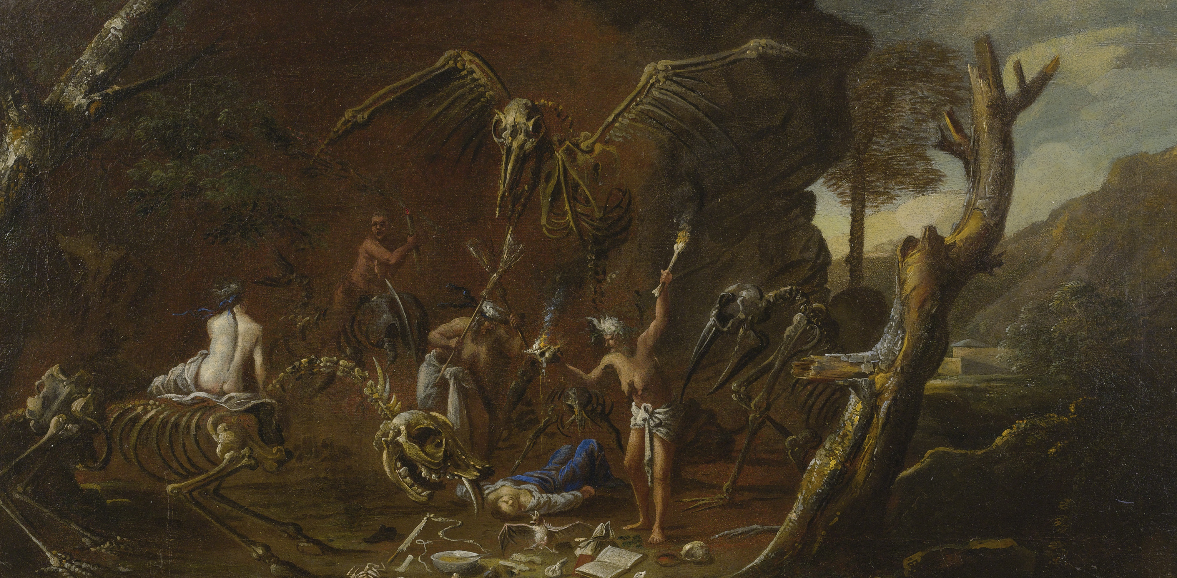Goya Pinturas Negras Monster Brains Salvator Rosa