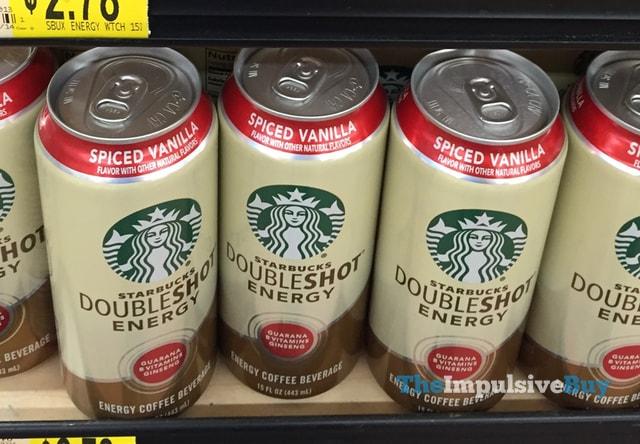 Starbucks Doubleshot Energy Spiced Vanilla