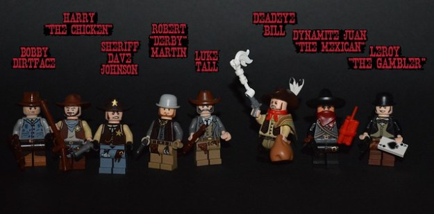 Sandwood Town Shootout: The Characters