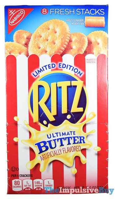 Limited Edition Ritz Ultimate Butter Crackers