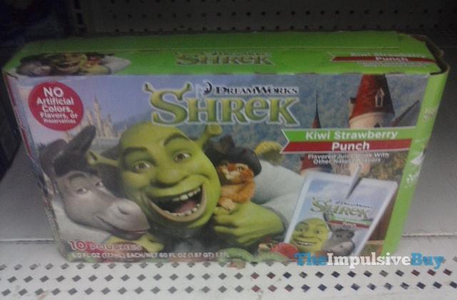 Dreamworks Shrek Kiwi Strawberry Punch