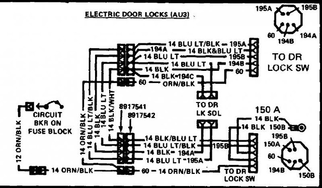 1980 pontiac firebird fuse box diagram