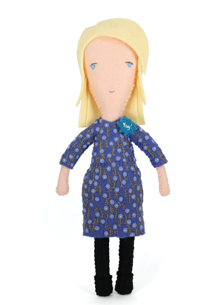 Moo Employee Doll #159 The dress on @moo employee doll #15\u2026 Flickr