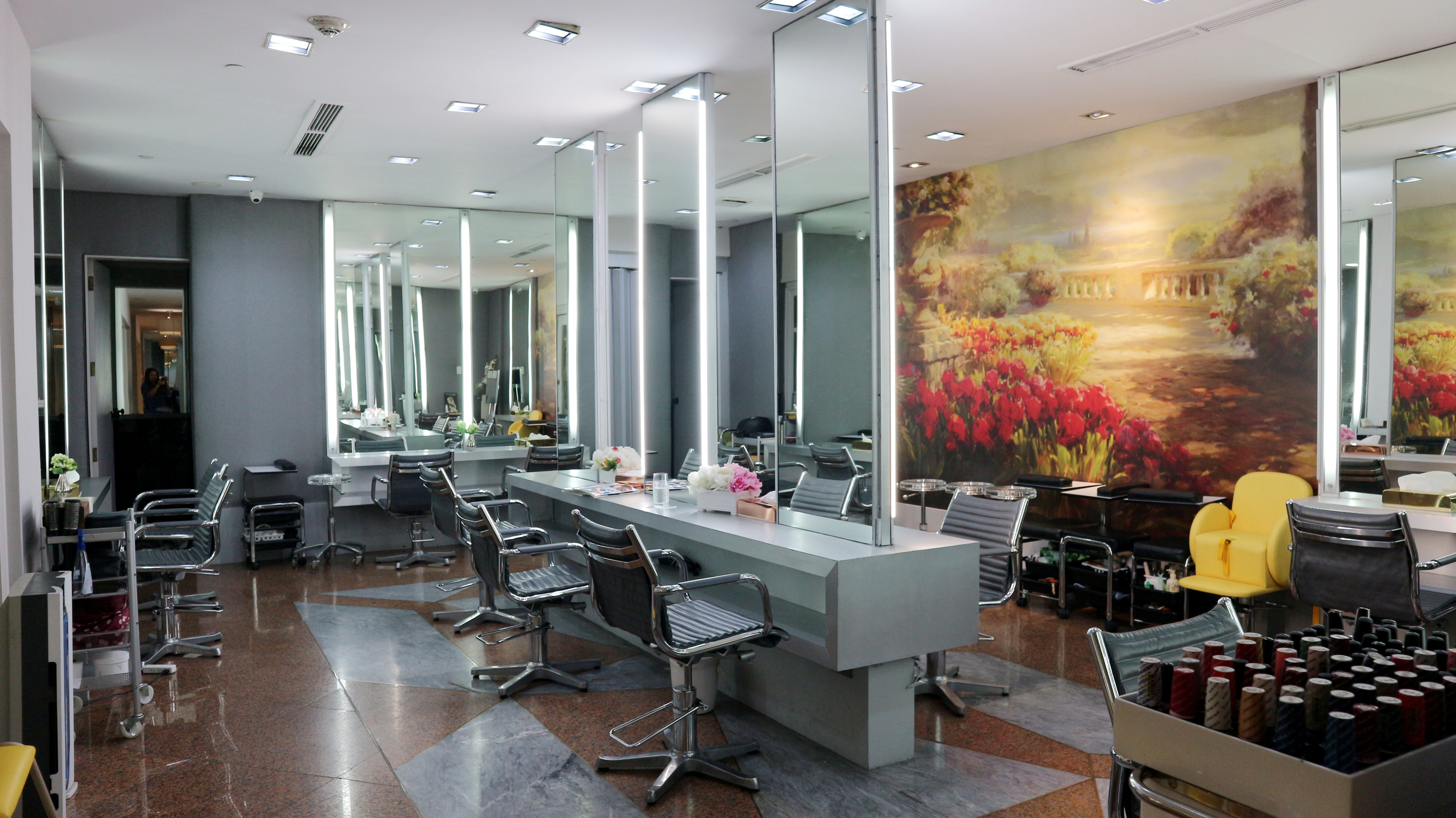 Salon Maquillage My Le Maquillage Salon Straight Therapy Rebonding Experience