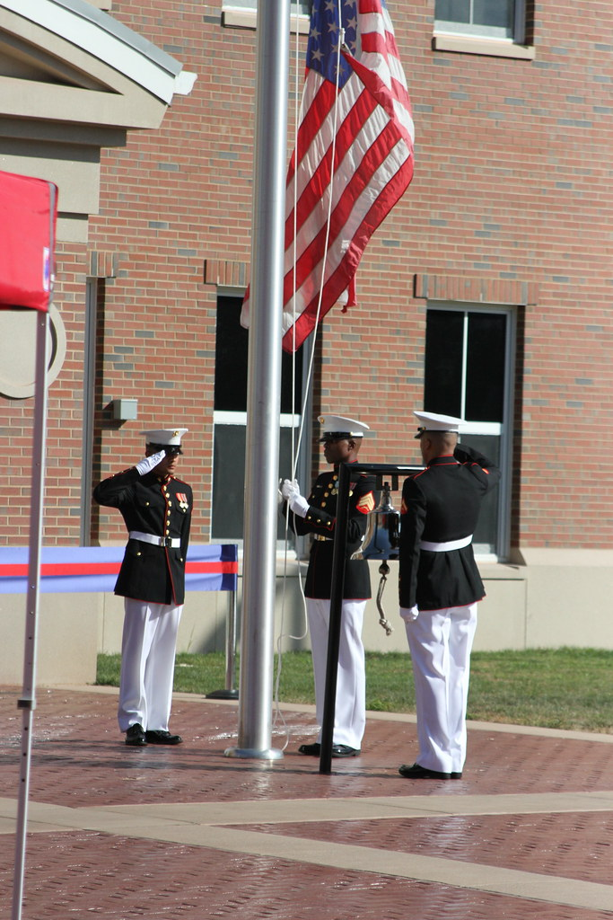 A Marine Corps Embassy Security Group (MCESG) color guard \u2026 Flickr