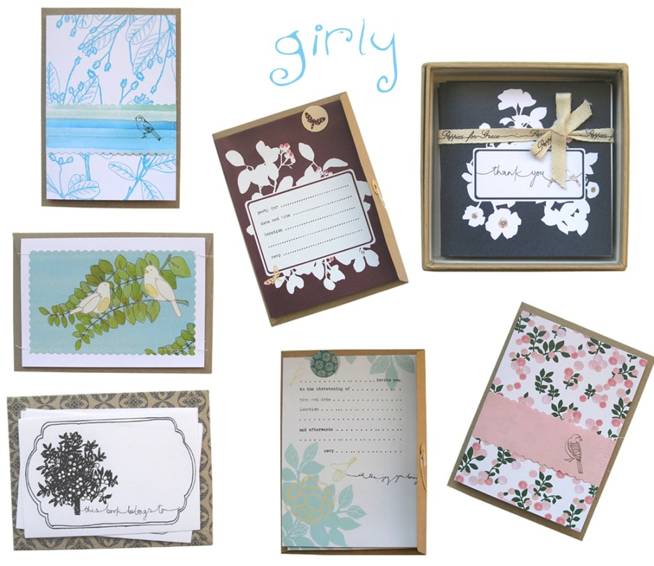 Poppies For Grace {paper goods}