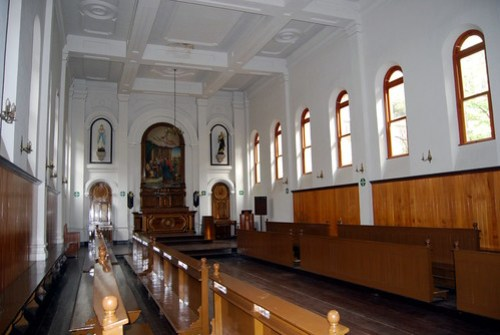 Interior, St. Justin's Catholic Seminary