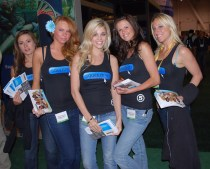 2481312003 e53d8ed953 Promotional Trade Show Models at Black Hat Infosec Caesars Palace Conference Center Las Vegas (Sin City Emme Girls)